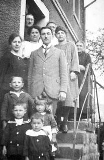 Familie Bullinger 1925