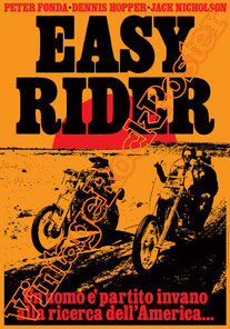 easy rider,dennis hopper,jack nicholson,karen black,peter fonda,1969, bikers, moto, motociclisti, born to be wild,beat, beatnik, hippy, hippie,movie, cinema, easy rider poster