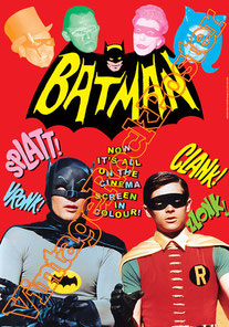 batman,adam west,batman poster,dc comics,comic,fumetto,burt ward,sci fi, b movie, tv serie, cartoni animati,cartoon