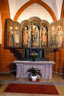 Gotischer Marienaltar