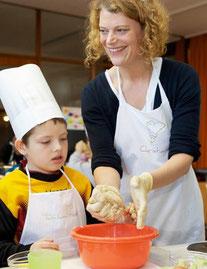 Kursleitung - Die kleinen Kochmützen | {Kochschule für kinder 43}