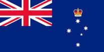 Flagge Bundesstaat Victoria, Australien