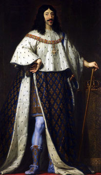 Louis XIII par Philippe de Champaigne. (Source : Royal Collection object 404108, Wikipedia)