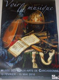 exposition au musée beaux arts à Carcassonne