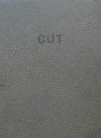 Peter Downsbrough, Cut, 1994, Guy Schraenen éditeur artists' books Künstlerbücher livres d'artistes