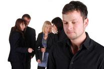 Mobbing Bossing Konflikte Stress Belastung Arbeitsplatz Kosten sansulting betriebliches gesundheitsmanagement Opfer Mobbingopfer was ist Mobbing Folgen Ursachen von Mobbing