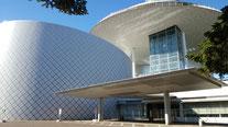 群馬県桐生市市民文化会館の外観の写真