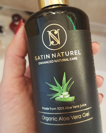 Satin Naturel Aloe Vera Gel Test Haul Healthlove Naturkosmetik