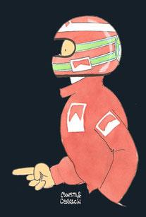 Eddie Irvine by Muneta & Cerracín