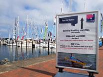 hanseboot ancora boat show 2018 | XCAT Segeln & ROWonAIR Rudern: Innovativer Wassersport am Eventstrand