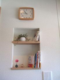 待合室ニッチの写真