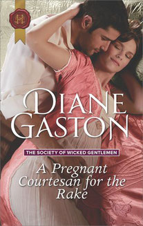 A Pregnant Courtesan for the Rake by Diane Gaston
