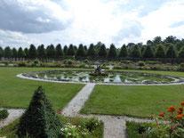 Puttenbrunnen im Schlassgarten Schwetzingen