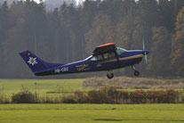 Rundflug mit Flugzeug