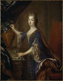 François de Troy, Portrait de Marie-Anne de Bourbon, princesse de Conti. Crédit photo : wikipédia