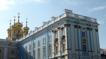 Bild: Katharinenpalast in St. Petersburg