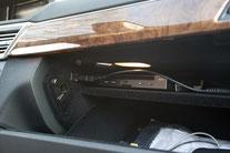 dvd player im handschuhfach vom Mercedes w212