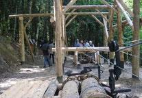 IRATY : ERREKA IDORRA, Histoire de l'exploitation forestière