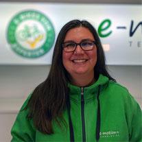 Mary Grube vom e-motion Team