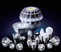 各種LEDランプ
