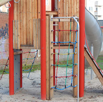 Baustelle Kinderspielplatz. ©Zarahzeta2014