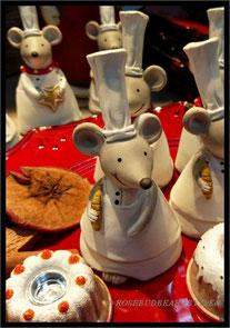 da backen sogar die Mäuse - in der Christmas Halle