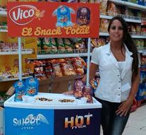 Promoción de Hot & Sweet Mix de Vico en centros Carrefour a nivel nacional