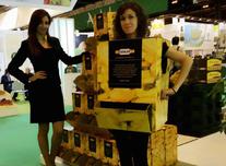Azafata de alta imagen y animadora de A10 Azafatas en Fruit Attraction