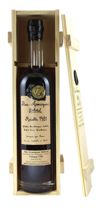 Bas Armagnac Delord Vintage 1981 with gift box. 97 points/Chairman's Trophy - Ultimate Spirits Challenge  - Rare & Exceptional Spirit Gift Ideas - HeavenlySpirits