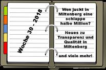 Wochenrückblick KW 30-2018
