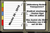 Wochenrückblick KW 26-2018