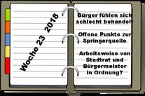 Wochenrückblick KW 33-2018