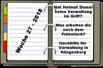 Wochenrückblick KW 27-2018