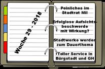 Wochenrückblick KW 29-2018