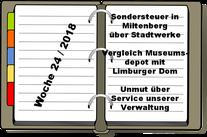 Wochenrückblick KW 24-2018