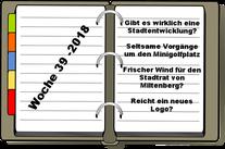 Wochenrückblick KW 39-2018