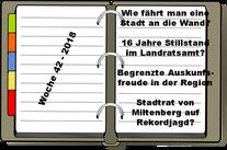 Wochenrückblick KW 42-2018