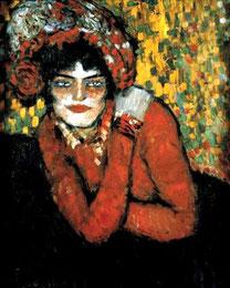 Пикассо Ожидание, Марго