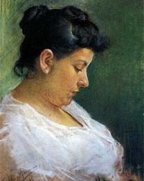 Пикассо Портрет матери художника