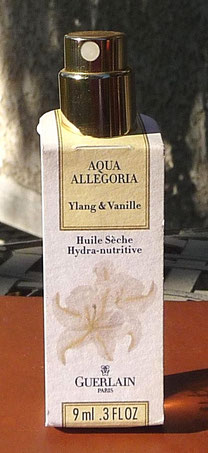 YLANG & VANILLE - HUILE SECHE 9 ML
