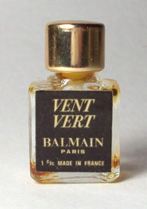 BALMAIN - VENT VERT - PETITE MINIATURE DE PARFUM