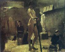 「ギュスターブ・モローの講義」(1895年)