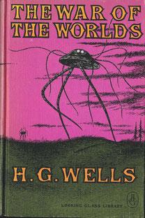 ゴーリーがイラストを担当したH・G・ウェルズの『宇宙戦争』