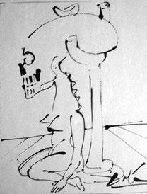 サルバドール・ダリ「Nefertiti」(1972年)