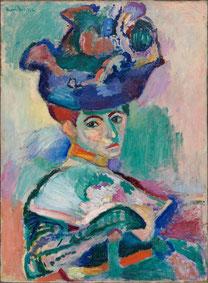 『帽子の女』(1905年)