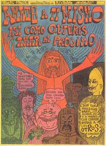 ホドロフスキー自身が描いた漫画『ファビュラス・パニキャス』