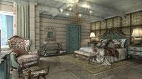 Дом Хонка. Главная спальня.