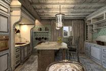 Дом Хонка. Кухня.