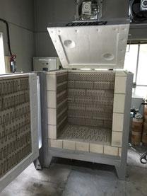 陶芸用電気炉TY-20W変形