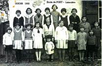 école du Port 1932